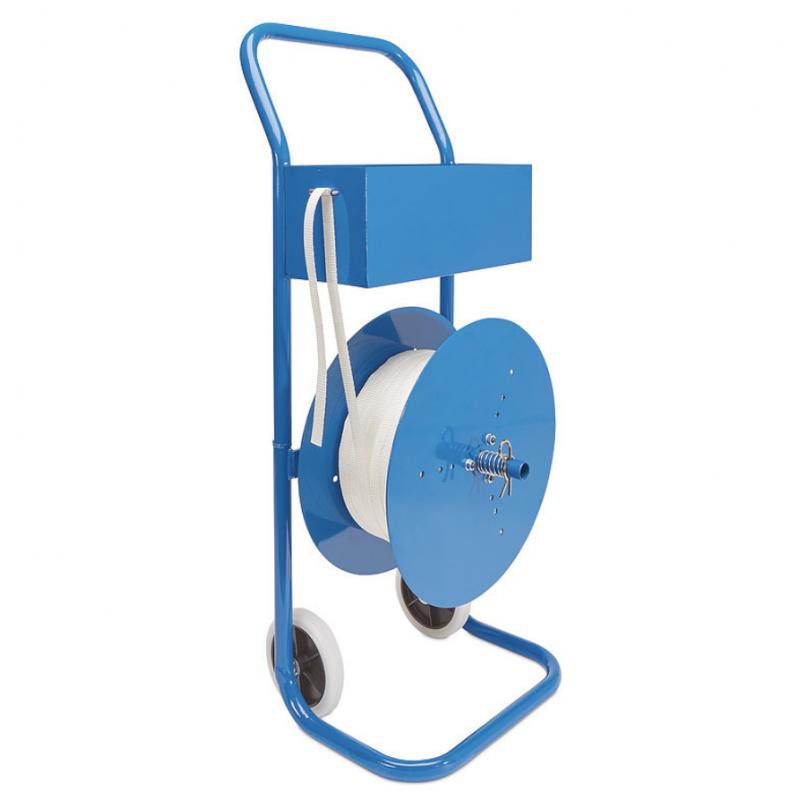Dévidoir Multi Usage Métal pour Feuillard PP et Acier
