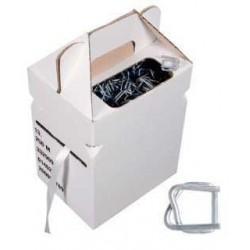 Kit de feuillard textile en boîte distributrice + Boucle