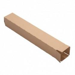 Carton carrée simple cannelure