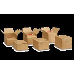Pack de 20 Cartons à hauteur variable