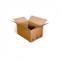 Pack de 20 Cartons Simple Cannelure Havane