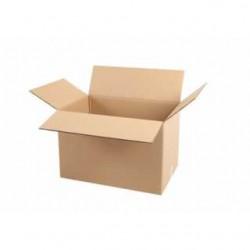 Pack de 10 Cartons Double Cannelure Havane