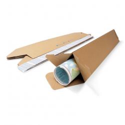 Pack de 25 Tubes Carton Triangulaire