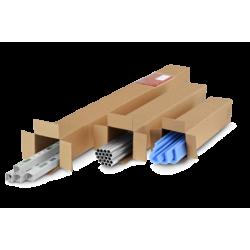 Pack de 15 Cartons Carrées simple cannelure